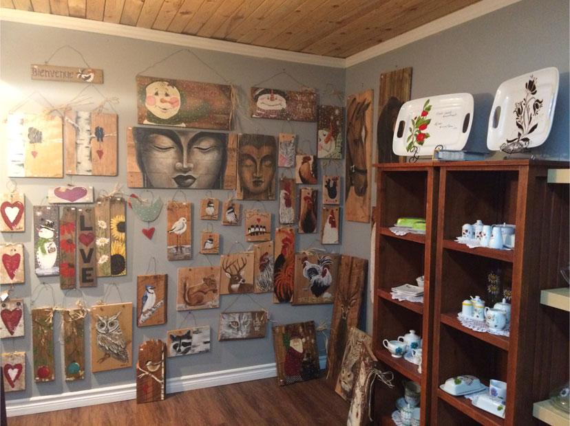 Atelier-boutique Suzie Montigny - HangArts publics 2017