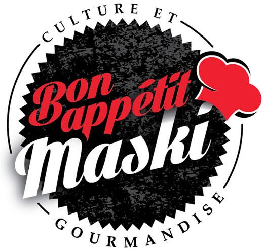 Logo Bon appétit Maski
