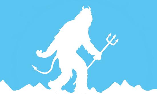 L'Abominable Diable des Neiges