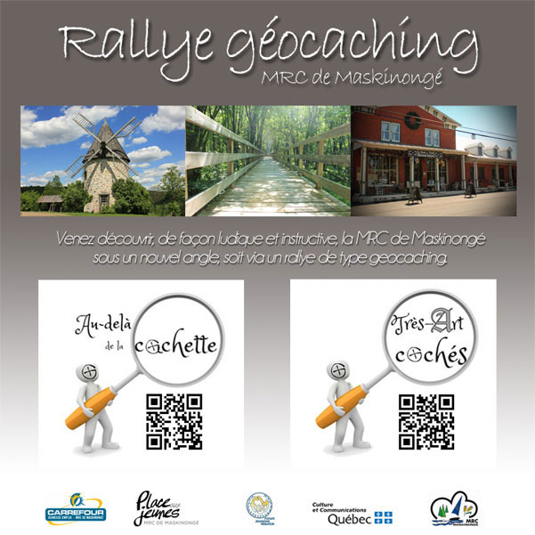 Rallye Géocaching de la MRC de Maskinongé