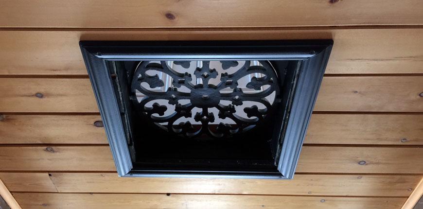Grille plafond/plancher