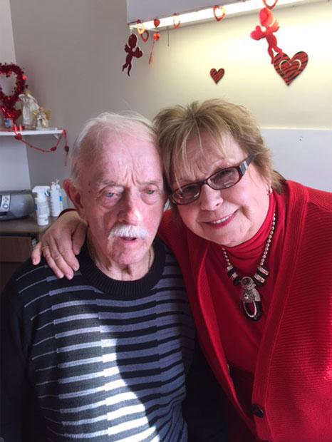 Janyse L. Pichette et son mari