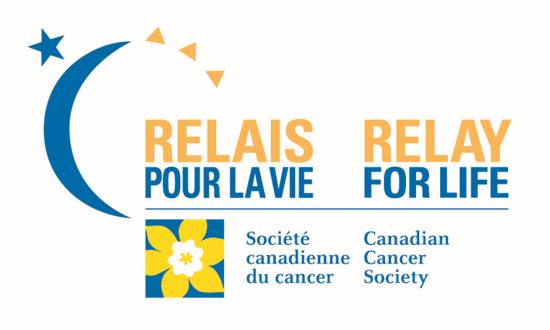 Logo Relais pour la Vie / Société canadienne du cancer