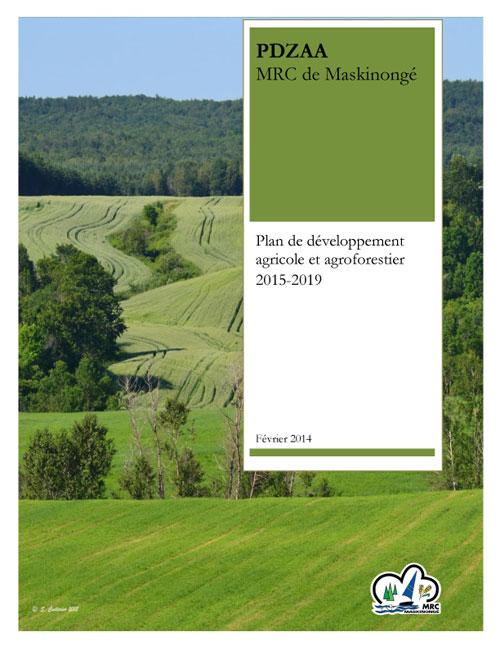 Page couverture du PDZAA de la MRC de Maskinongé