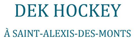 Logo Dek Hockey de Saint-Alexis-des-Monts