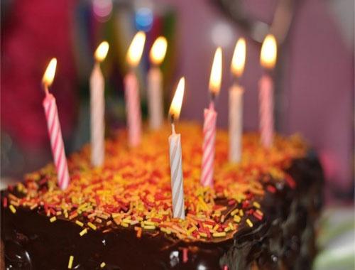 Gâteau de fête au Rond Coin