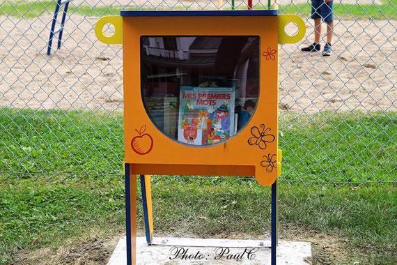 Croque-livres au Parc Marguerite-Bourgeoys à Yamachiche