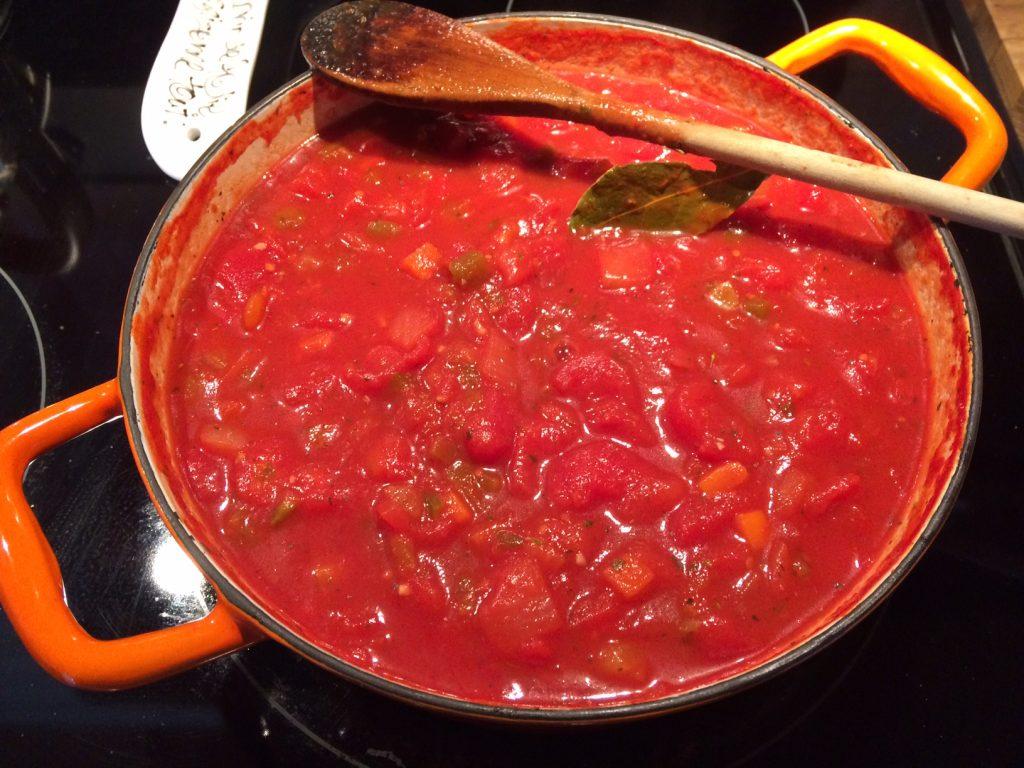 Sauce à spaghetti