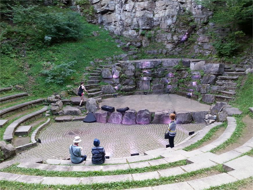 Amphithéâtre au coeur de la forêt, Saint-Mathieu-du-Parc