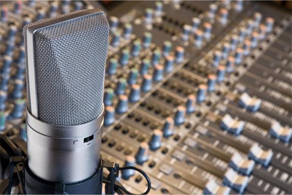 Microphone et console