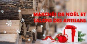 Magasinage, salons de Noël et artisans
