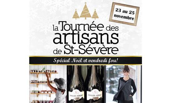 Tournée des artisans de St-Sévère : Spécial Noël