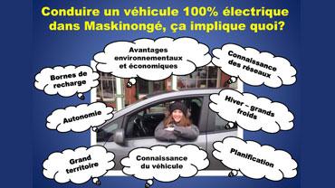 Conduire 100% électrique - Jennifer St-Yves Lambert