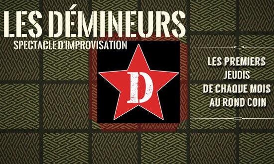 Les Démineurs - Spectacle d'improvisation