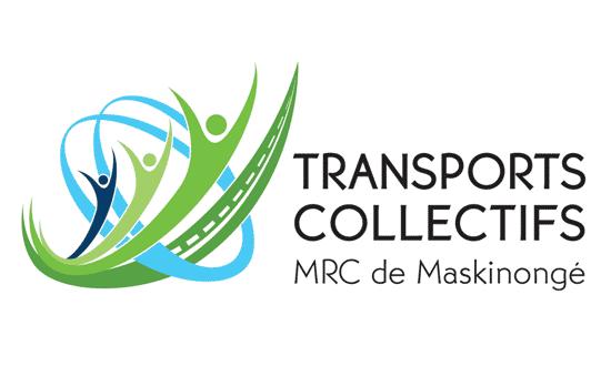 Logo : Transports collectifs et covoiturage de la MRC de Maskinongé