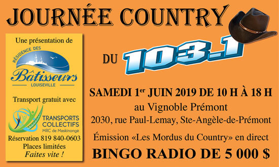 Journée Country du 103,1
