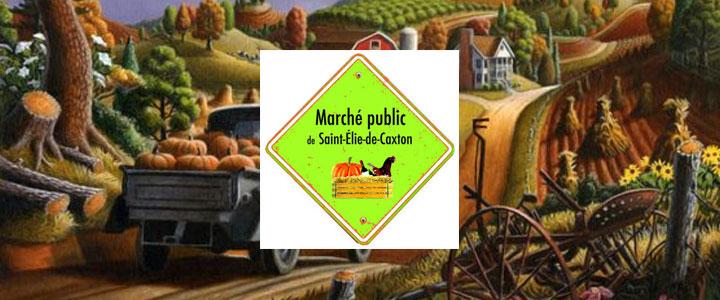Marché public de Saint-Élie-de-Caxton