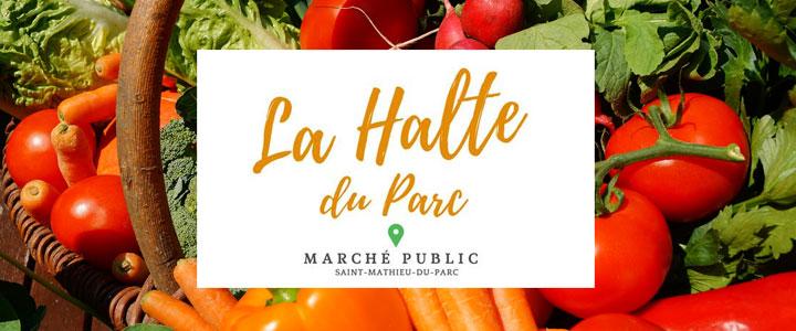 Marché public de Saint-Mathieu-du-Parc