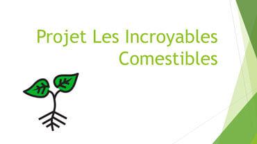 Projet Les Incroyables Comestibles
