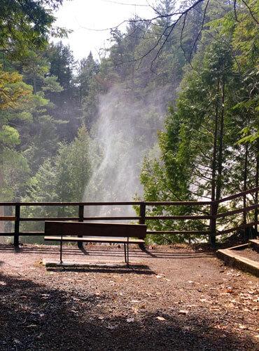 Parc des chutes de Sainte-Ursule