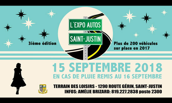 L'Expo autos Saint-Justin