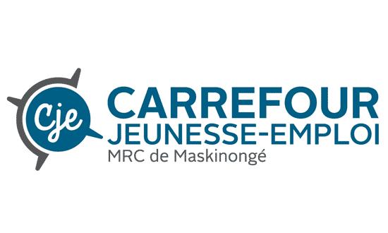 Logo Carrefour jeunesse-emploi MRC de Maskinongé