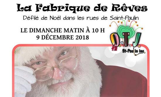 La Fabrique de Rêves - Défilé de Noël (St-Paulin)