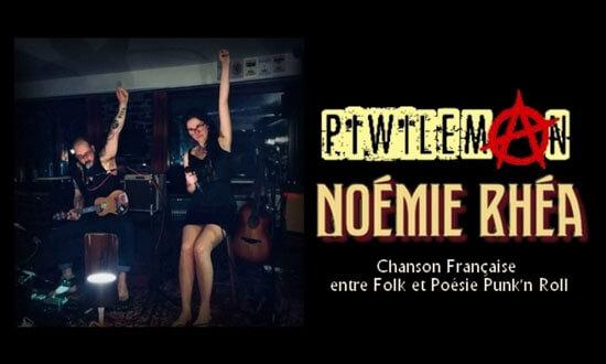 Piwi & Rhéa - Folk, poésie & punk'n'roll