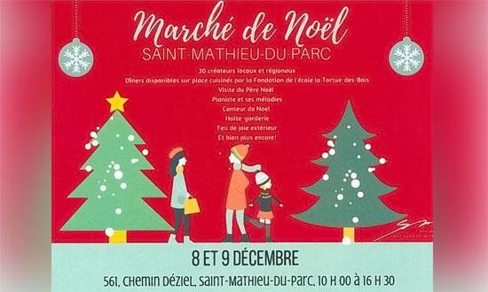 Marché de Noël de Saint-Mathieu-du-Parc