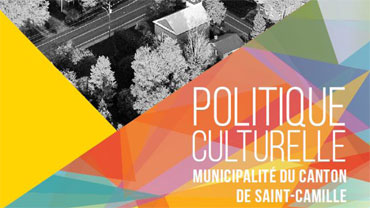 Philippe Pagé, maire de Saint-Camille - La concertation du milieu culturel de la municipalité de Saint-Camille