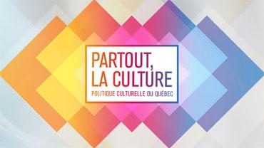Yannick Gendron, conseiller en développement culturel, ministère de la Culture et des Communications du Québec - La nouvelle politique culturelle au Québec : « Partout la culture »