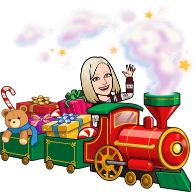 Le petit train de Noël - Jennifer St-Yves-Lambert