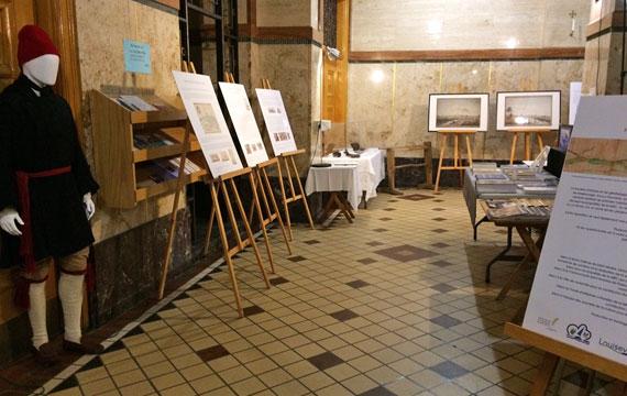 Exposition sur l'histoire de la MRC de Maskinongé à Louiseville