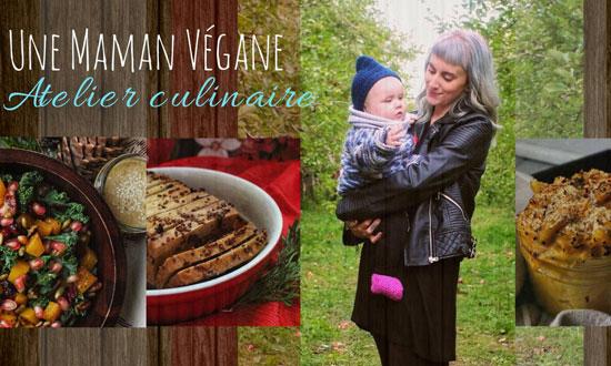 Atelier culinaire avec Une Maman Végane