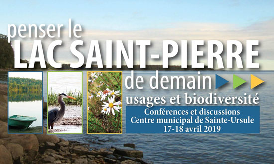 Forum de la Table de concertation régionale du lac Saint-Pierre
