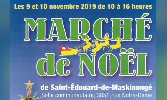 Marché de Noël de Saint-Édouard-de-Maskinongé